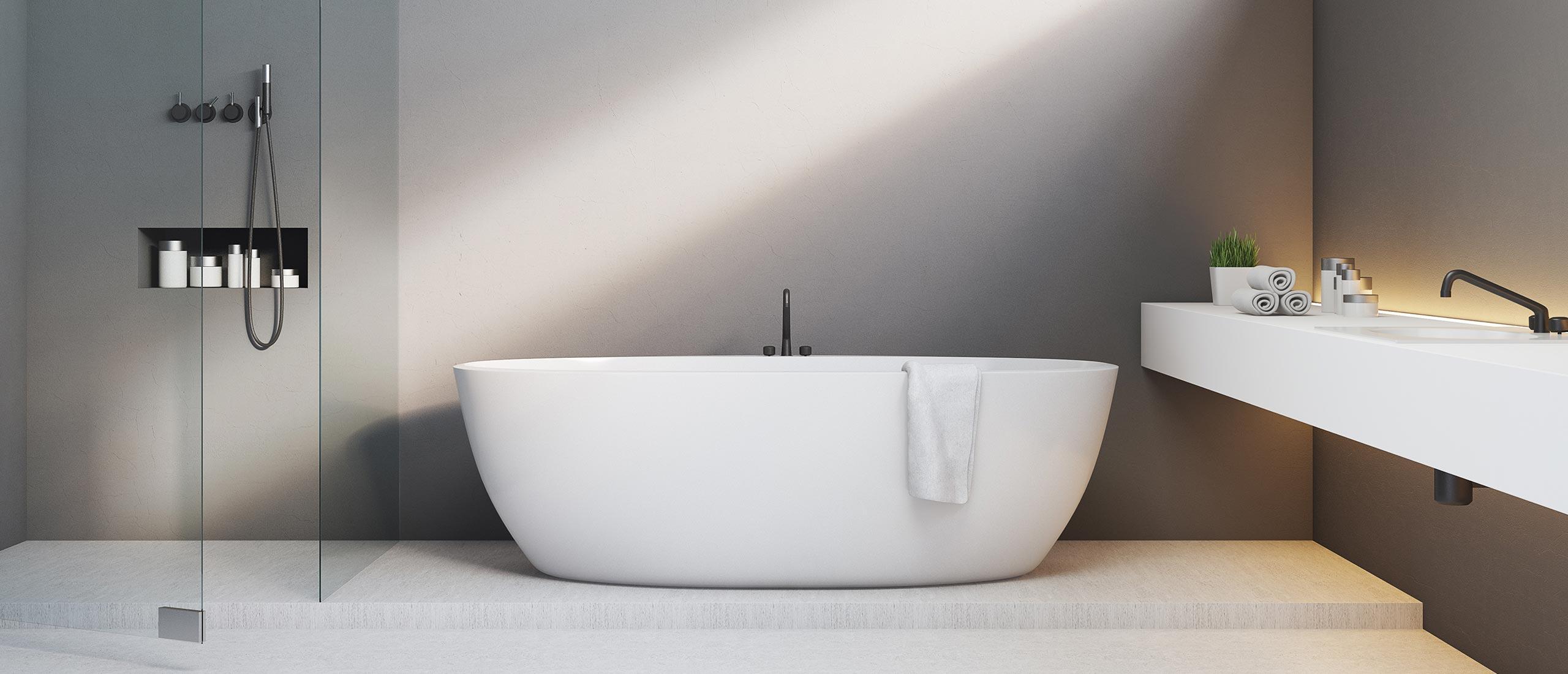 Badkamer verbouwen door de installateur uit Huizen